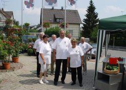 Rosenfest 2004 Gärtnerei Fischer Burglengenfeld