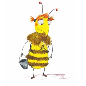 Die Punker-Biene